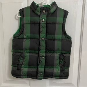 GYMBOREE Button Up Puffer Vest